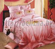 Семейный комплект постельного белья из Сатина.